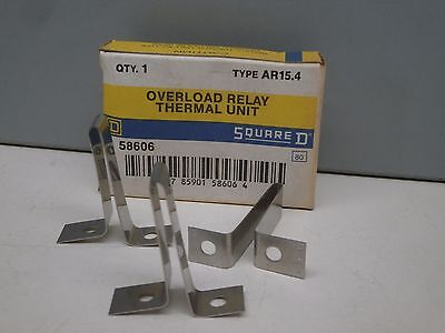 Lot of (4) Square D AR15.4 Overload Relay Thermal Element Unit