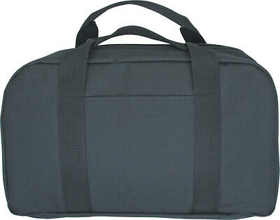 Black Nylon Padded Pocket Knifecase With 22 Pockets And Carrying Handles  Ac128