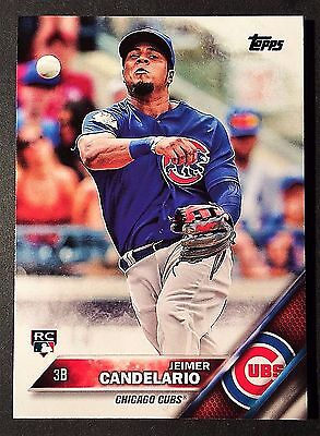 2016 Topps Update JEIMER CANDELARIO RC #US81 Chicago Cubs Rookie Card NM QTY
