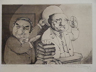 """The Oath"" Charles Bragg Limited Edition 74/75 Lithograph Print Framed Law Art"