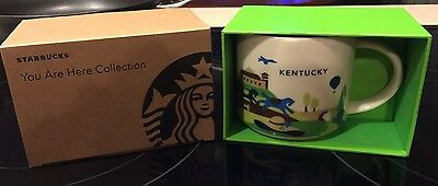 """Starbucks Kentucky """"You Are Here"""" Collection Coffee Cup/Mug NEW 14 Ounce"""