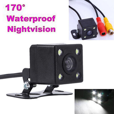 4 LED HD Car Rear View Reverse Backup Parking Camera Night Vision Waterproof 12V