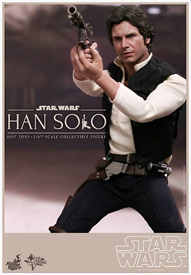 Star Wars Hot Toys Han Solo Episode Iv 1:6 Scale Action Figure Hotmms261