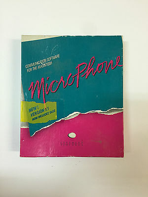 Microphone Software Ventures For Macintosh~Vintage~Collectable