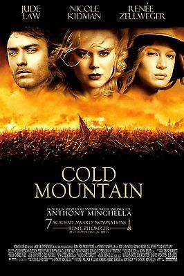 Cold Mountain Movie Poster 18'' X 28'' ID:1