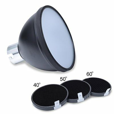 Godox AD-S2 Standard Reflector + Honeycomb Grid for AD360 AD360II AD200 Flash