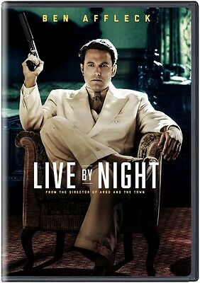 Live By Night (2017, DVD NUEVO) (REGION 1)