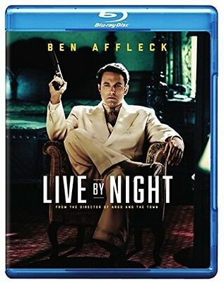 Live By Night (2017, Blu-ray NUEVO) (REGION A)