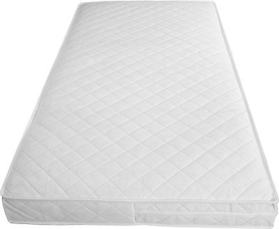 Quilted Baby COT BED MATTRESS Fully Breathable 140 X 70 X 5Cm Nursery Furniture