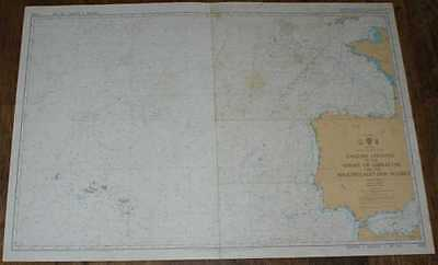 Nautical Chart No. 4103 N Atlantic Ocean, English Channel to Strait of Gibraltar