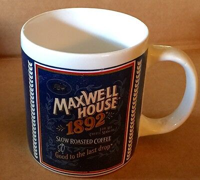 Maxwell House Good To The Last Drop 1892 Coffee Cup Collectible Mug