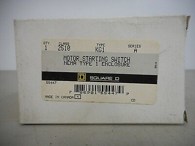 Square D 2510 Kg1 Motor Starting Switch Series A