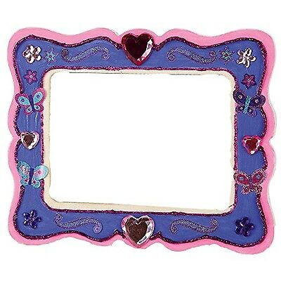 The works decorate your own wooden box picclick uk for Decorate your own picture frame craft