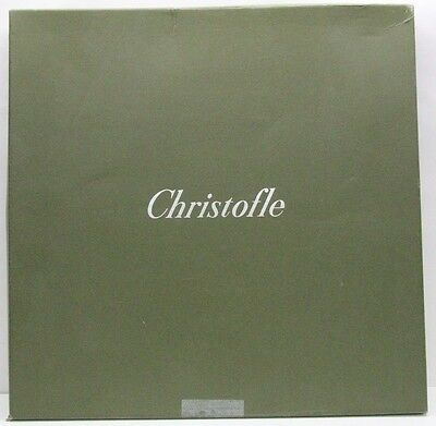 Christofle  Large Silver Plate With Original Box.