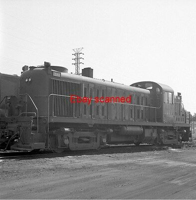 2 Central Railroad of New Jersey CNJ RS-3 Diesel 1541 Negative Red Bank NJ 1968