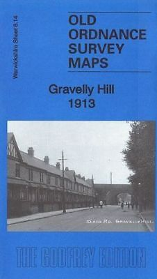 Old Ordnance Survey Map Gravelly Hill 1913