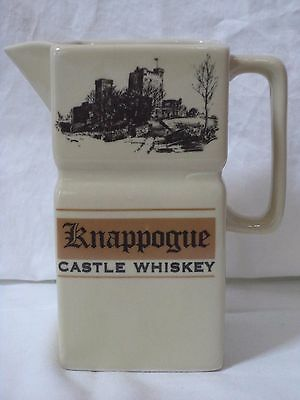 "Knappogue (Irish) Castle Whiskey, Ceramic Pitcher 5 1/2""H"