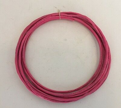 Magnum E57497 CL3P 14/2C & 22/2C 75C Hot Pink Alarm Cable Wire USA /25ft