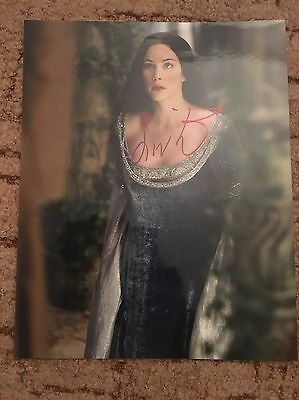 Liv Tyler LOTR Hand Signed Picture With COA