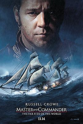 Master and Commander: The Far Side of the World Movie Poster 18'' X 28'' ID:2