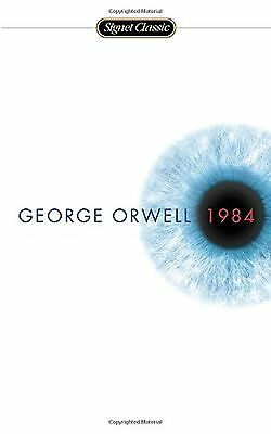 1984 by George Orwell, Paperback, New, Free Shipping.