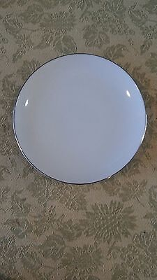 Style House Platinum Ring Bread Plate  Fine China Vintage Japan