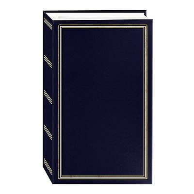 3-ring pocket NAVY-BLUE album for 504 photos by Pioneer - 4x6, New.