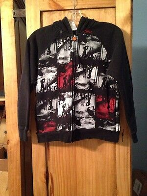 Boys Black And 1 Basketball Hoodie Jacket Coat Size Small (8)