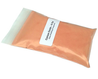 Cerium Oxide Glass Polishing Compound 8 Oz, New, Free Shipping.
