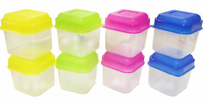 8 X New Mini Plastic Storage Boxes Keep Food Fresh Lunch Small Container  sc 1 st  PicClick UK & 8 X NEW Mini Plastic Storage Boxes Keep Food Fresh Lunch Small ...