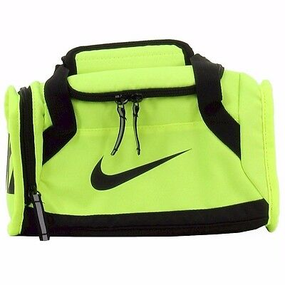Nike Deluxe Insulated Gym Volt Green /Black Tote Lunch Bag. Medical style. New!