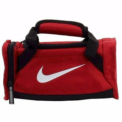 Nike Deluxe Insulated Gym Red /Black Tote Lunch Bag. Medical style. New!