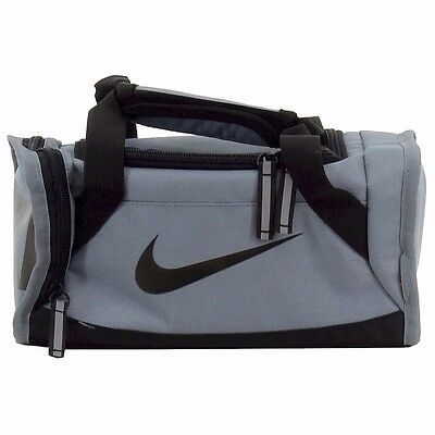 Nike Deluxe Insulated Gym Gray /Black Tote Lunch Bag. Medical style. New!