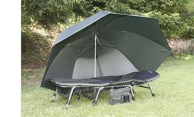Anaconda Oval 345 Solid Nubrolly - Angelschirm Angelzelt Carpzelt Camping Outdoo