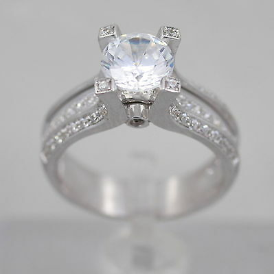 Diamond Jewelry & Watches Official Website Diamond Ring Round Cut Agi Appraisal 14k White Gold Vvs1 Six Prong 1.08 Ct