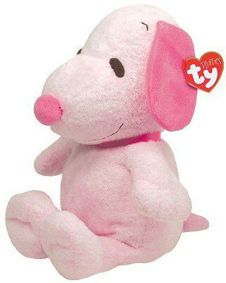 TY Pluffies - SNOOPY the Dog (Pink Tonal Musical - 11.5 inch)