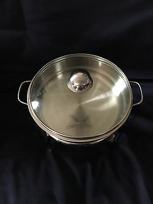 Classic Chafing Dish Large Round, Chafer Stainless Steel