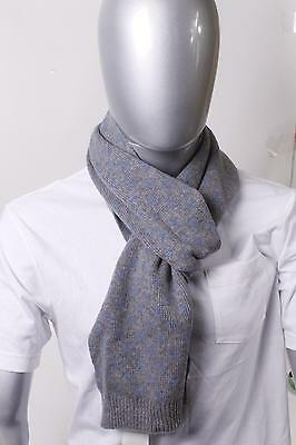 $100 Men's Store Wool Scarf One size Gray NEW