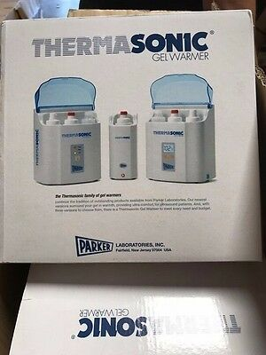 Thermasonic Gel Warmers 3-Bottle  LED-High, Med, Low New in box