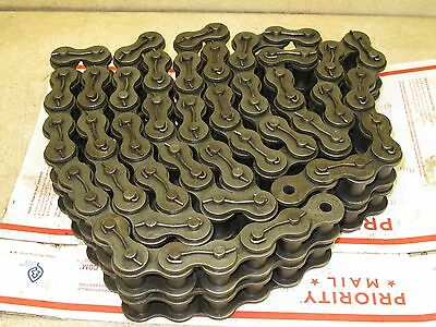 "Acme Usa,  Roller Chain,  120-2 Cottered,  Double Strand,  118 1/2"" Long"