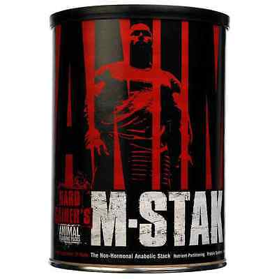 Universal Nutrition Animal M-STAK - 21 Packs + A powerful product