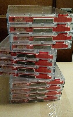 NOW 16 cases - USED - Alpha Security Anti-Theft Keepers DVD case - AVM476B
