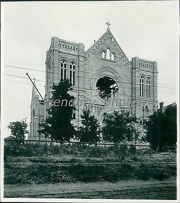 1900s Cathedral of the Madeline Utah Original News Service Photo