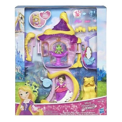 Hasbro Disney Princess Little King dom Rapunzels Styling Tower