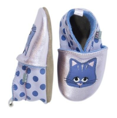 Melton Zapatos de gateo Kitty Gato light púrpura