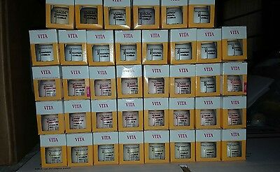 Dental Porcelain Vita VM13 12g bottles  51 Bottles Please see Details