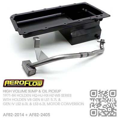 5.5L High Volume Sump & Oil Pickup V8 Gen Iii Ls1 5.7L [Holden Hq-Hj-Hx-Hz-Wb]