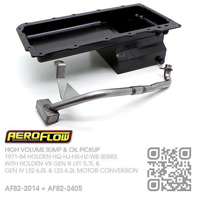 5.5L High Volume Sump & Oil Pickup V8 Gen Iv Ls3 6.2L [Holden Hq-Hj-Hx-Hz-Wb]