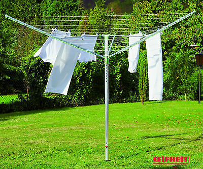 Leifheit Linotrend 85506 clothes horse drying rack to umbrella outdoor mt 2,45