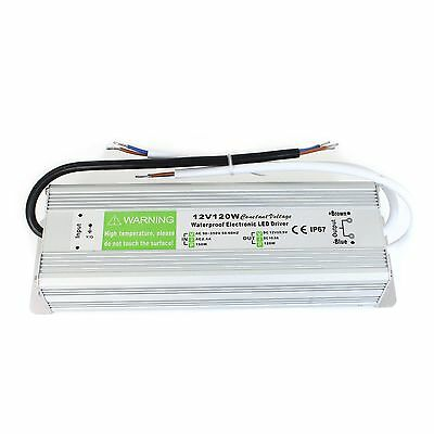 DC 12V 120W LED Strip Waterproof IP67LED Driver Power Supply Transformer